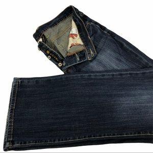 Lucky Brand Button Fly Slim Bootleg Jeans Sz 36x32
